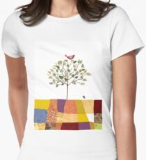 4 Season Series - Spring Womens Fitted T-Shirt