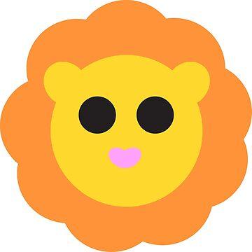 Cute Lion by mydragonzeatyou