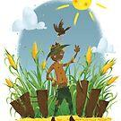 Scarecrow  by Rowena Aitken