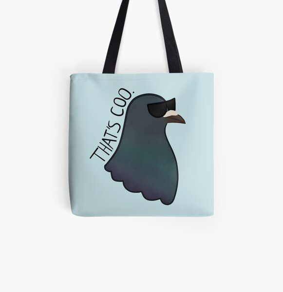 That's Coo All Over Print Tote Bag
