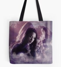 Iris West- Purple Design Tote Bag