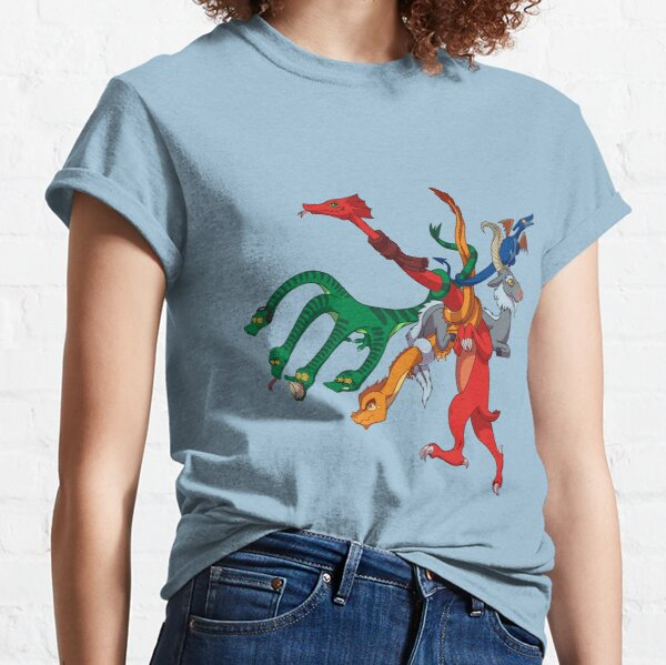 Dragon MBTA Map Classic T-Shirt