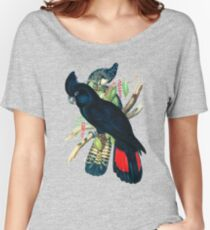 Australian Banksian Black Cockatoo Women's Relaxed Fit T-Shirt