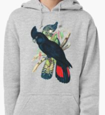 Australian Banksian Black Cockatoo Pullover Hoodie