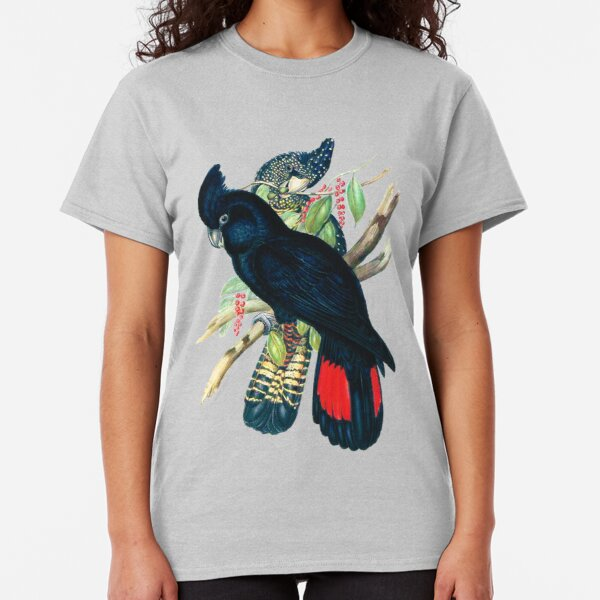 Australian Banksian Black Cockatoo Classic T-Shirt