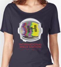International Space Station  Women's Relaxed Fit T-Shirt
