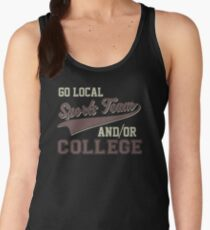 Vintage Go Local Sports Team And/Or College Funny Women's Tank Top
