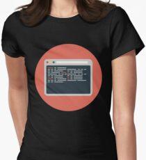 Web development Women's Fitted T-Shirt