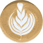 Latte Art Graphic by Lina N