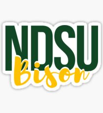 NDSU Bison Sticker