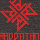 Red Star and Logo Big - RaddTitan by RaddTitan