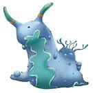 Nudibranch! by Rowena Aitken