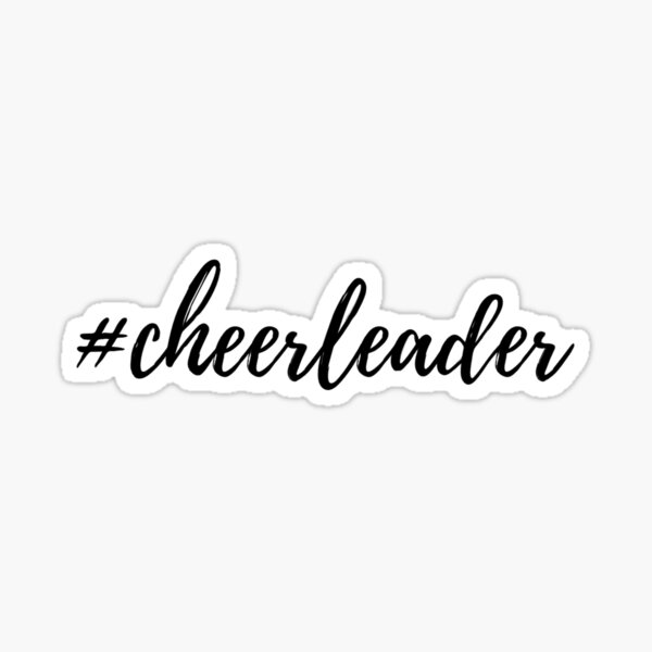 #cheerleader Sticker