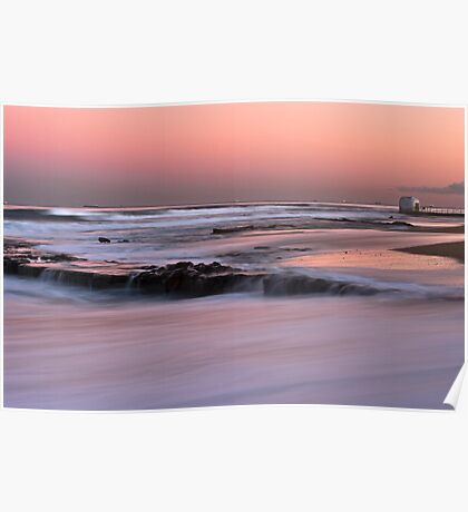 Merewether Beach Sunset - Australia Poster