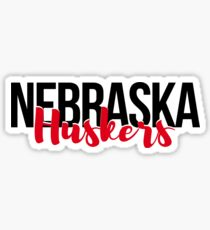 Nebraska Huskers Sticker