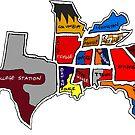 «Estados de la Conferencia del Sureste» de Statepallets