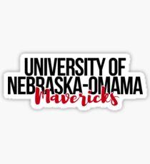 University of Nebraska-Omaha Mavericks Sticker