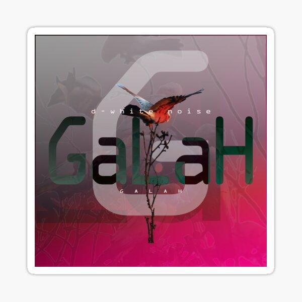 D-White Noise - Galah - Merch version 2 Sticker