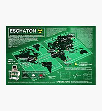 Eschaton Diagram - Infinite Jest Photographic Print