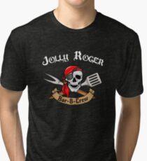 Jolly Roger Bar-B-Crew Tri-blend T-Shirt