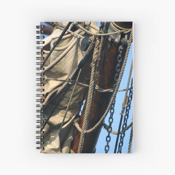 MAST,SAIL,CORDS& CHAINS Spiral Notebook