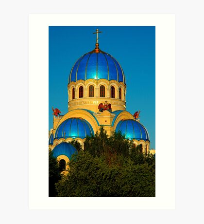 """Temples - """"Holy Trinity Cathedral (RU)"""" p.2 Art Print"""