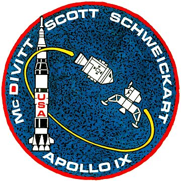Apollo 9 Mission Patch by zachsbanks