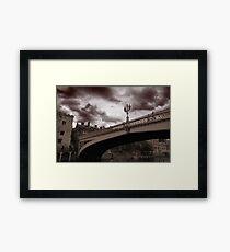 york bridge Framed Print