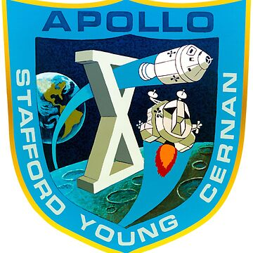 Apollo 10 Mission Patch by zachsbanks