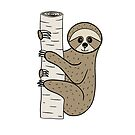 Sloths in the Woods by Pamela Maxwell