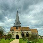 The Church Of Saints Peter & Paul,Steeple Mordern by Jamie  Green