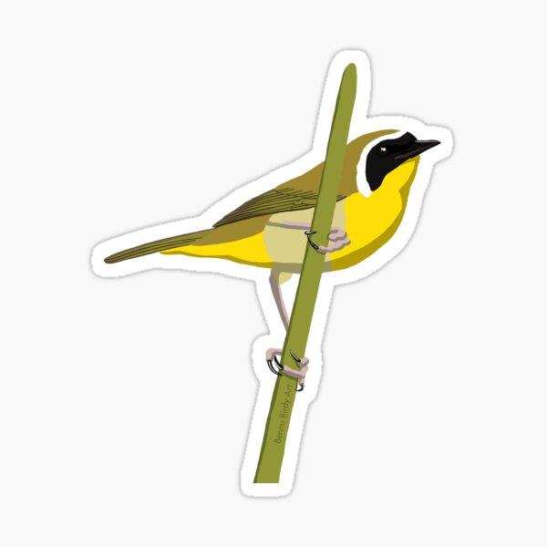 Common Yellowthroat Sticker