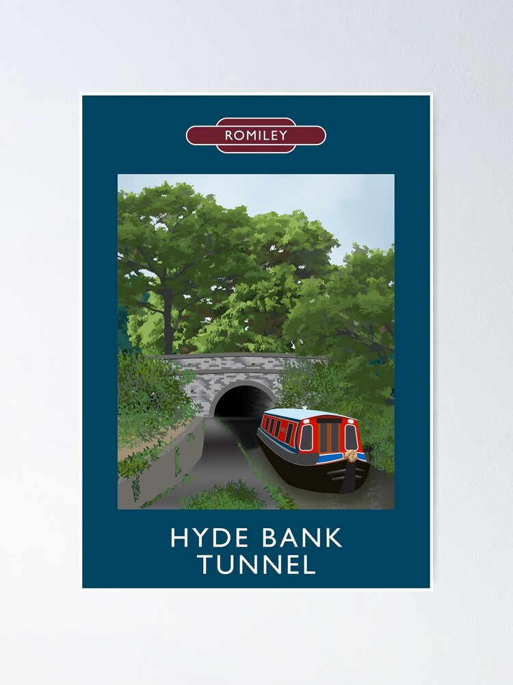 Alternate view of ROMILEY - Hyde Bank Tunnel Poster