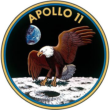 Apollo 11 Mission Patch by zachsbanks