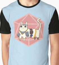 Cleric Meow Graphic T-Shirt