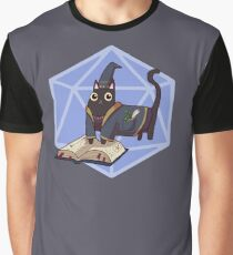 Wizard Meow Graphic T-Shirt