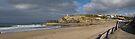 Portreath Panoramic View: Cornwall UK by DonDavisUK