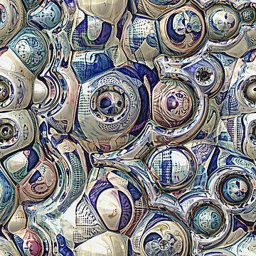 Reflective Spheres Pattern by perkinsdesigns
