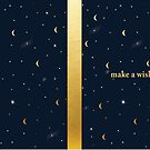 Make a wish - Moon & Stars by Monnolife