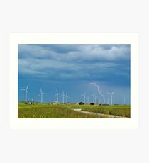 Renewable Energy Art Print