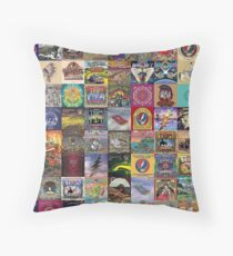 collage cover Throw Pillow