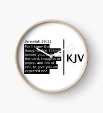 The Jeremiah 29:11 Scripture 2.0 range  Clock