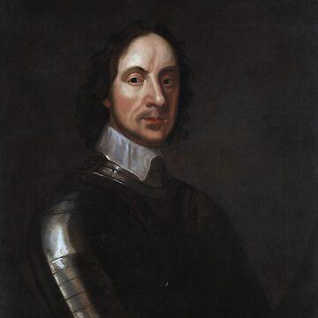 Oliver Cromwell Portrait - By Adriaen Hanneman by warishellstore