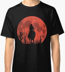 RED DEAL REDEMPTION 2 -RED MOON COWBOY T-SHIRT Classic T-Shirt