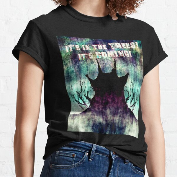 Classic cult British folk horror film style image. Classic T-Shirt