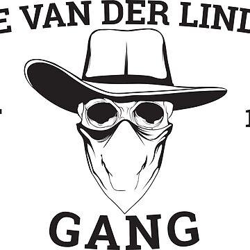 THE VAN DER LINDE'S GANG EST 1911 T-SHIRT by rosadinardo4
