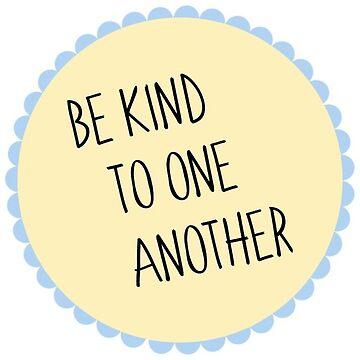 sean amables unos con otros de tffindlay