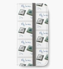 New chip old chip brain  iPhone Wallet/Case/Skin