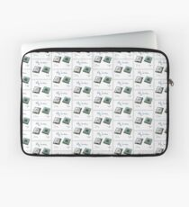 New chip old chip brain  Laptop Sleeve