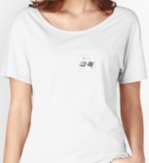 New chip old chip brain  Women's Relaxed Fit T-Shirt